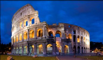 <p>Italy: Rome, The Colosseum</p>
